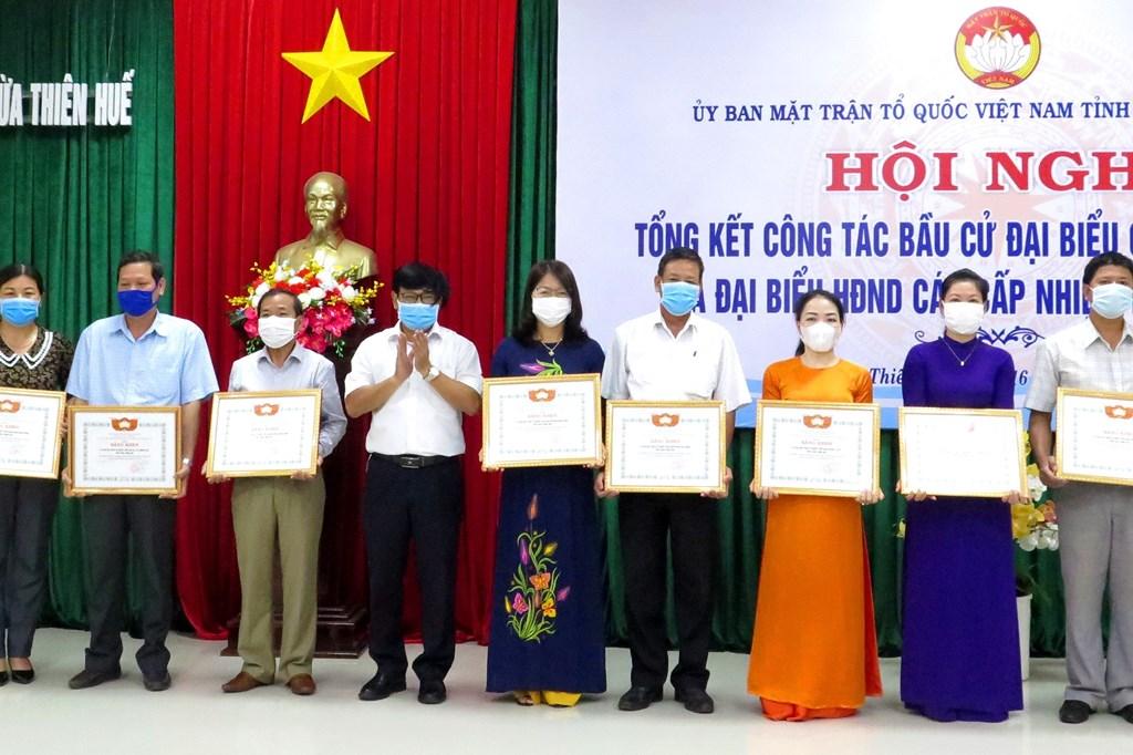 Thừa Thiên-Huế, Hải Dương tổng kết công tác bầu cử đại biểu Quốc hội