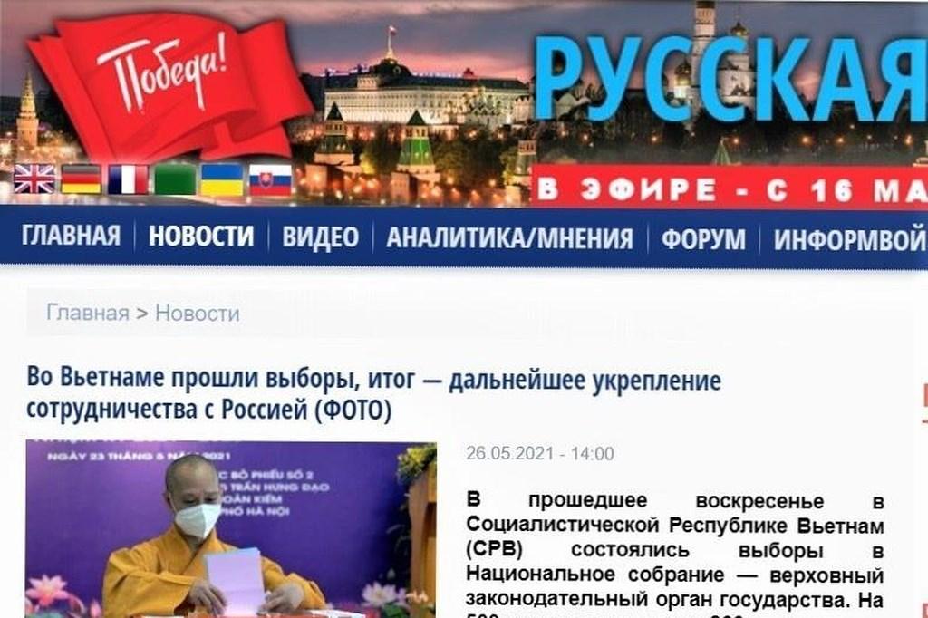 [Video] Báo Nga đánh giá cao vai trò của Quốc hội Việt Nam