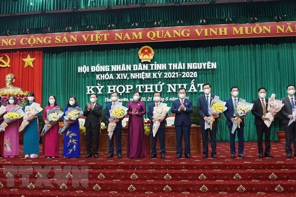 Bầu các chức danh chủ chốt của HĐND, UBND tỉnh Thái Nguyên