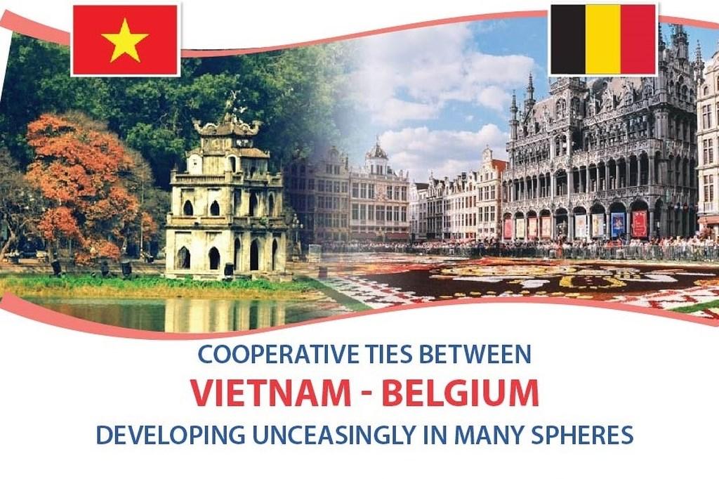 Vietnam- Belgium relations develop unceasingly