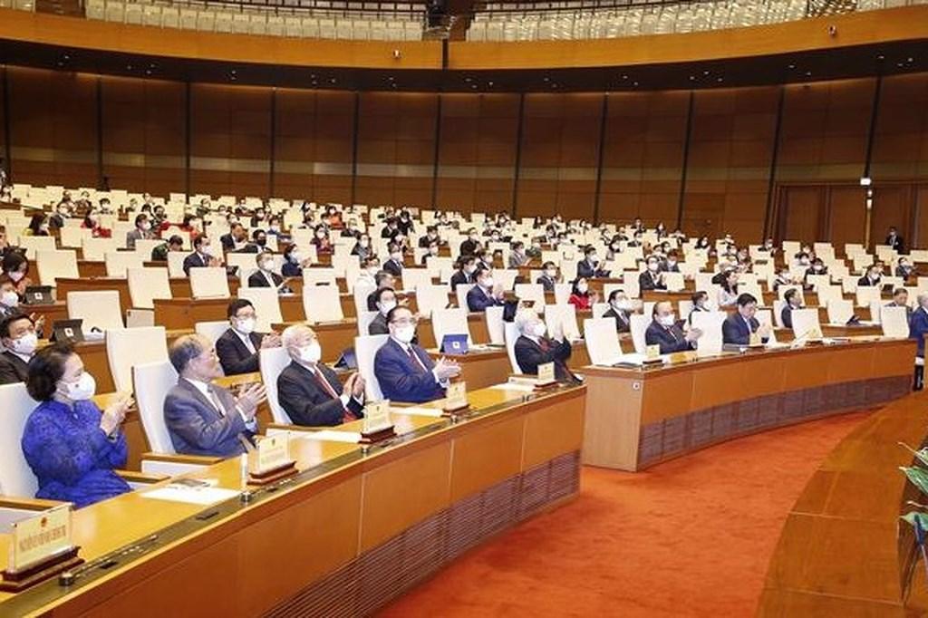 Première journée de travail de la 2e session de l'Assemblée nationale