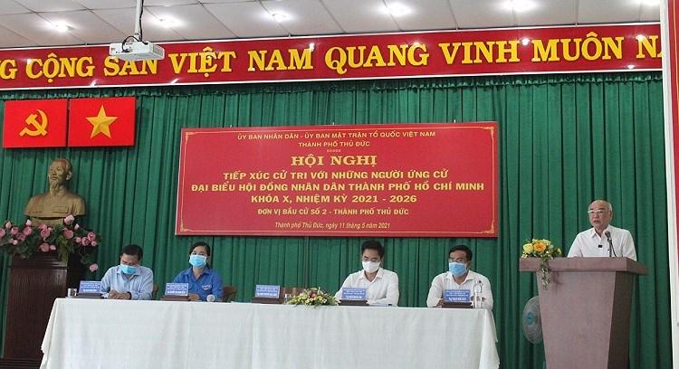 Thanh pho Thu Duc da san sang cho ngay bau cu 23/5 hinh anh 1