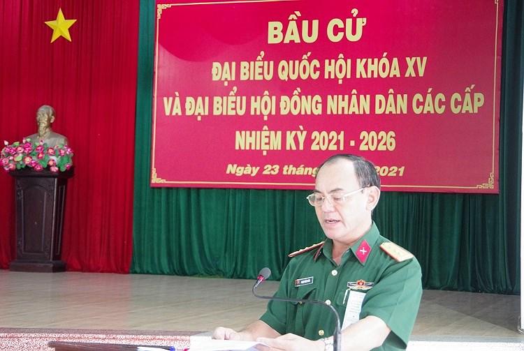 Cac chien sy ao xanh hoan thanh nhiem vu bo phieu tai TP Ho Chi Minh hinh anh 5
