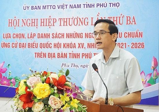 Phu Tho tang cuong giam sat, dam bao to chuc bau cu thanh cong hinh anh 1