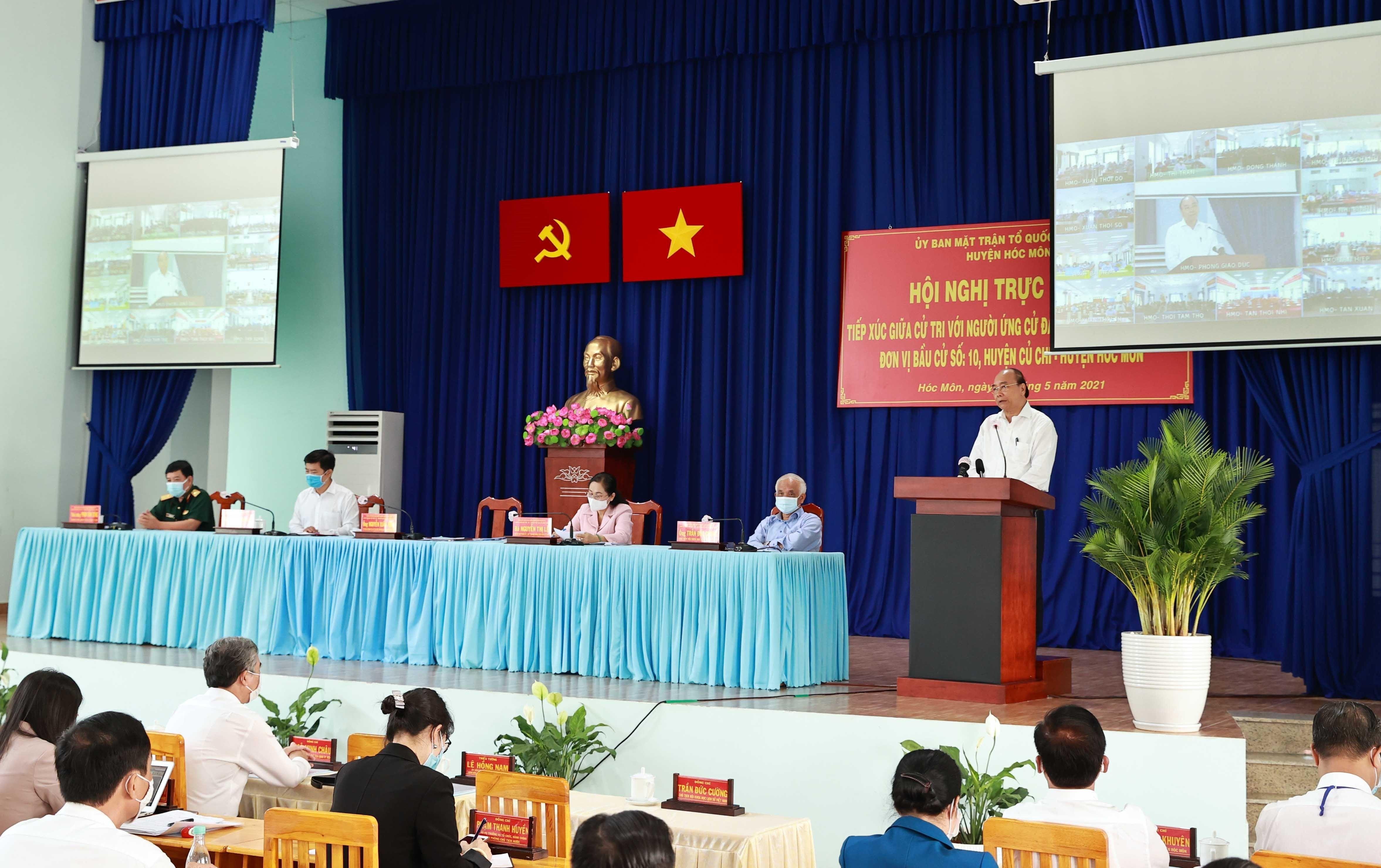 Chu tich nuoc: Thanh pho Ho Chi Minh phai la hinh mau cua ca nuoc hinh anh 1