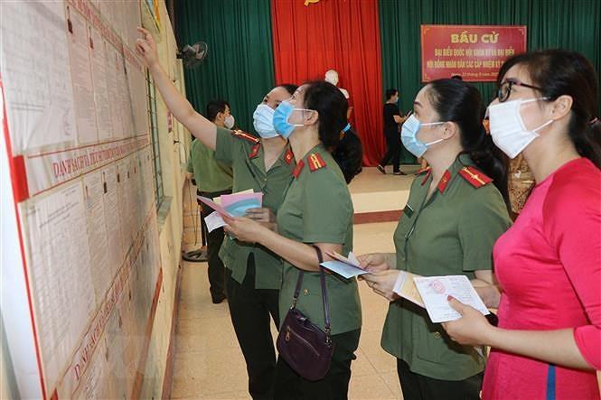 Khong khi bau cu tai Bac Kan, Dien Bien, Hung Yen va Ninh Binh hinh anh 1
