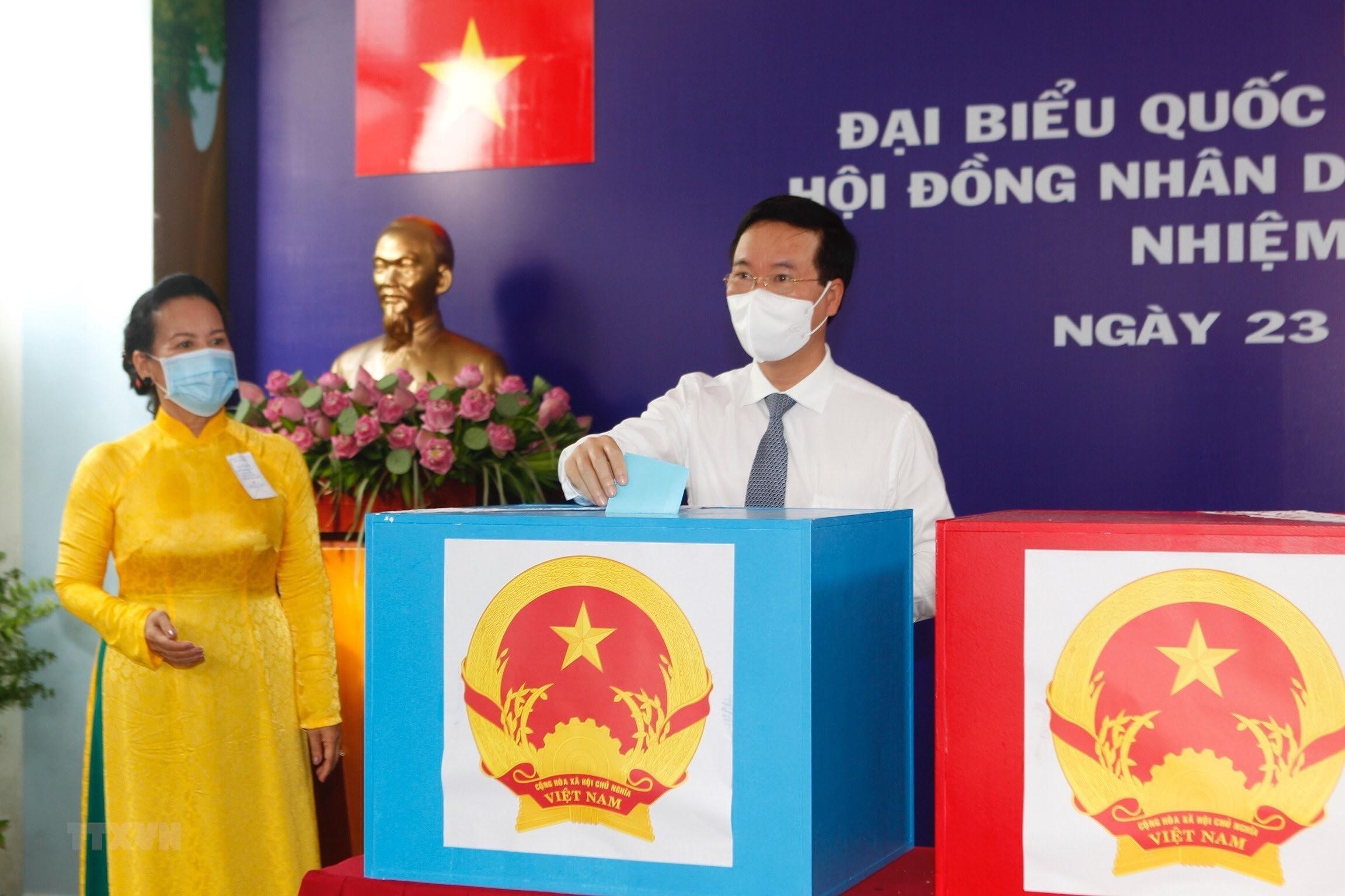 Cu tri TP.HCM, Vinh Long, Soc Trang, Quang Ngai no nuc di bau cu hinh anh 1
