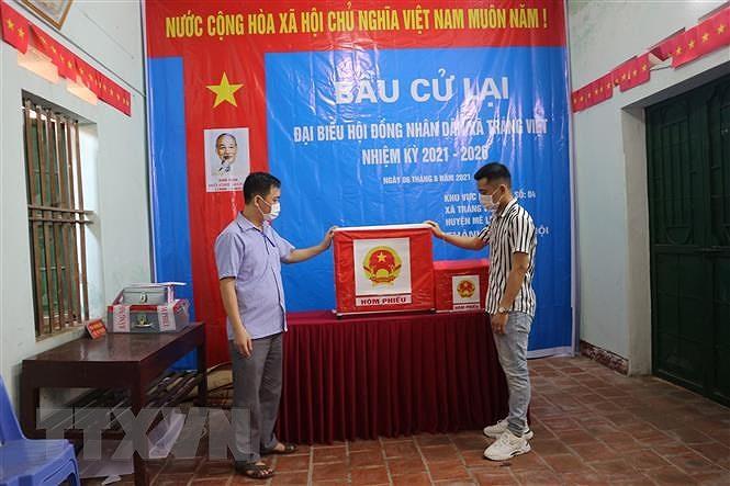 Ha Noi xu ly sai pham nghiem trong trong bau cu HDND xa Trang Viet hinh anh 1