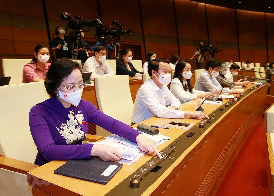 Thong qua Nghi quyet ve ke hoach dau tu cong trung han 2021-2025 hinh anh 1