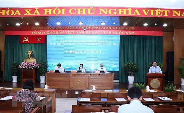 Thanh pho Ho Chi Minh da san sang cho Ngay hoi toan dan hinh anh 1