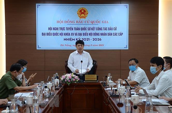 Da Nang, Ba Ria-Vung Tau, Quang Ninh gap rut chuan bi cho ngay bau cu hinh anh 1