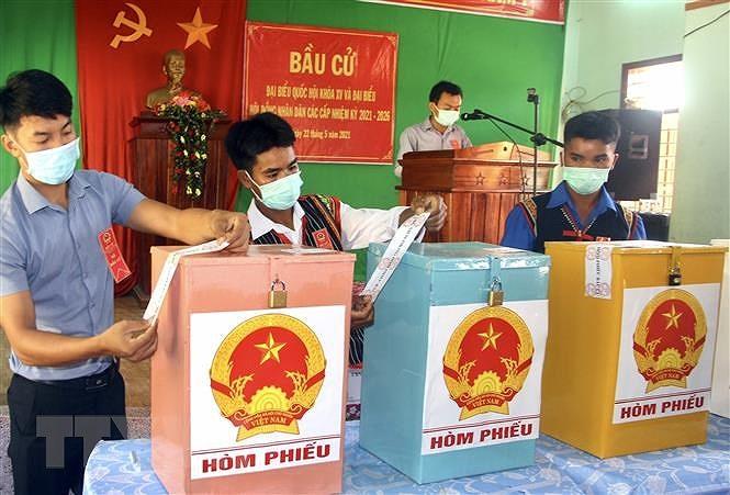 Binh Dinh: Bau cu som o 3 xa vung cao huyen Van Canh va Vinh Thanh hinh anh 1