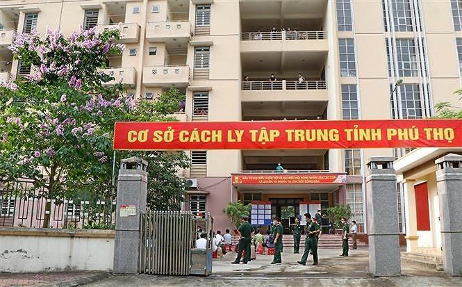 Phu Tho: Thuc hien cac phuong an phuc vu cu tri trong khu cach ly hinh anh 1