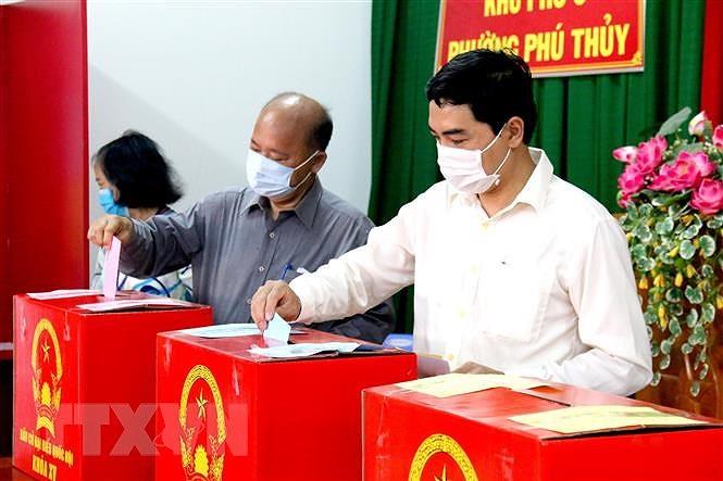 Lang Son, Binh Thuan cong bo ket qua so bo cuoc bau cu hinh anh 2