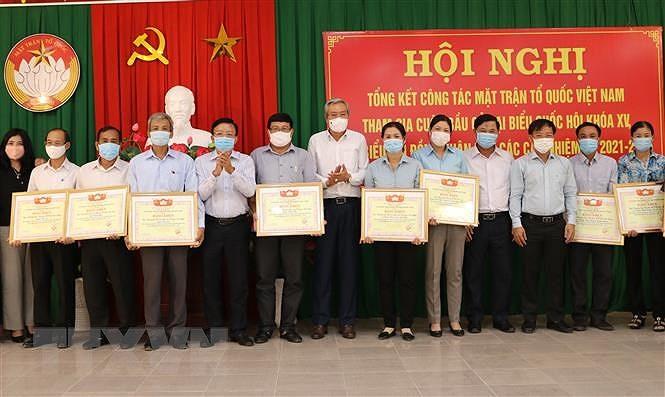 Da Nang, Ninh Thuan tong ket cong tac bau cu dai bieu quoc hoi va HDND hinh anh 2