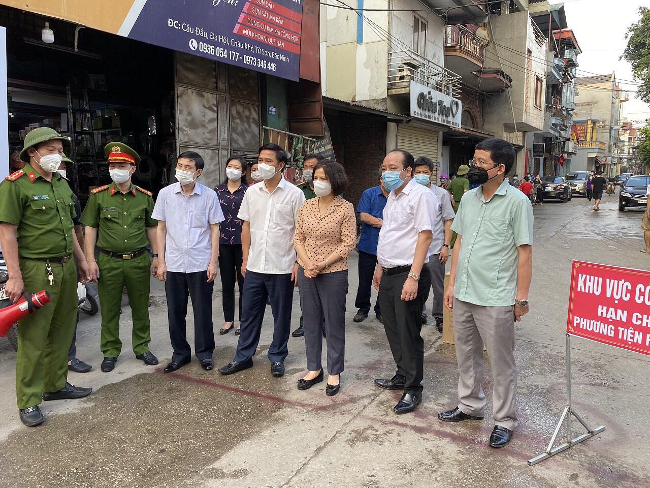Bac Ninh: Quyet liet kiem soat dich COVID-19, san sang cho ngay bau cu hinh anh 2