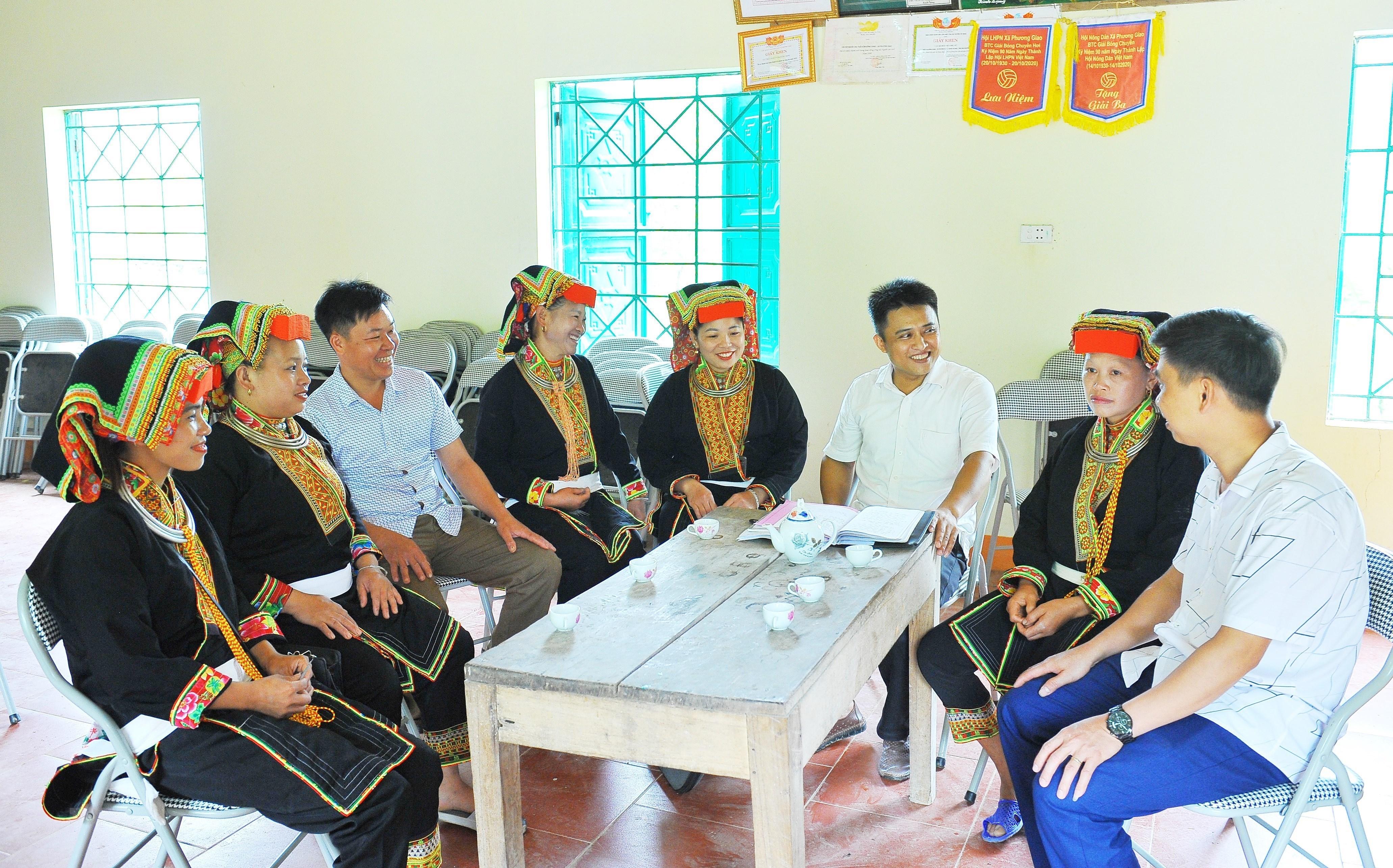 Thai Nguyen day manh tuyen truyen bau cu trong vung dong bao dan toc hinh anh 7