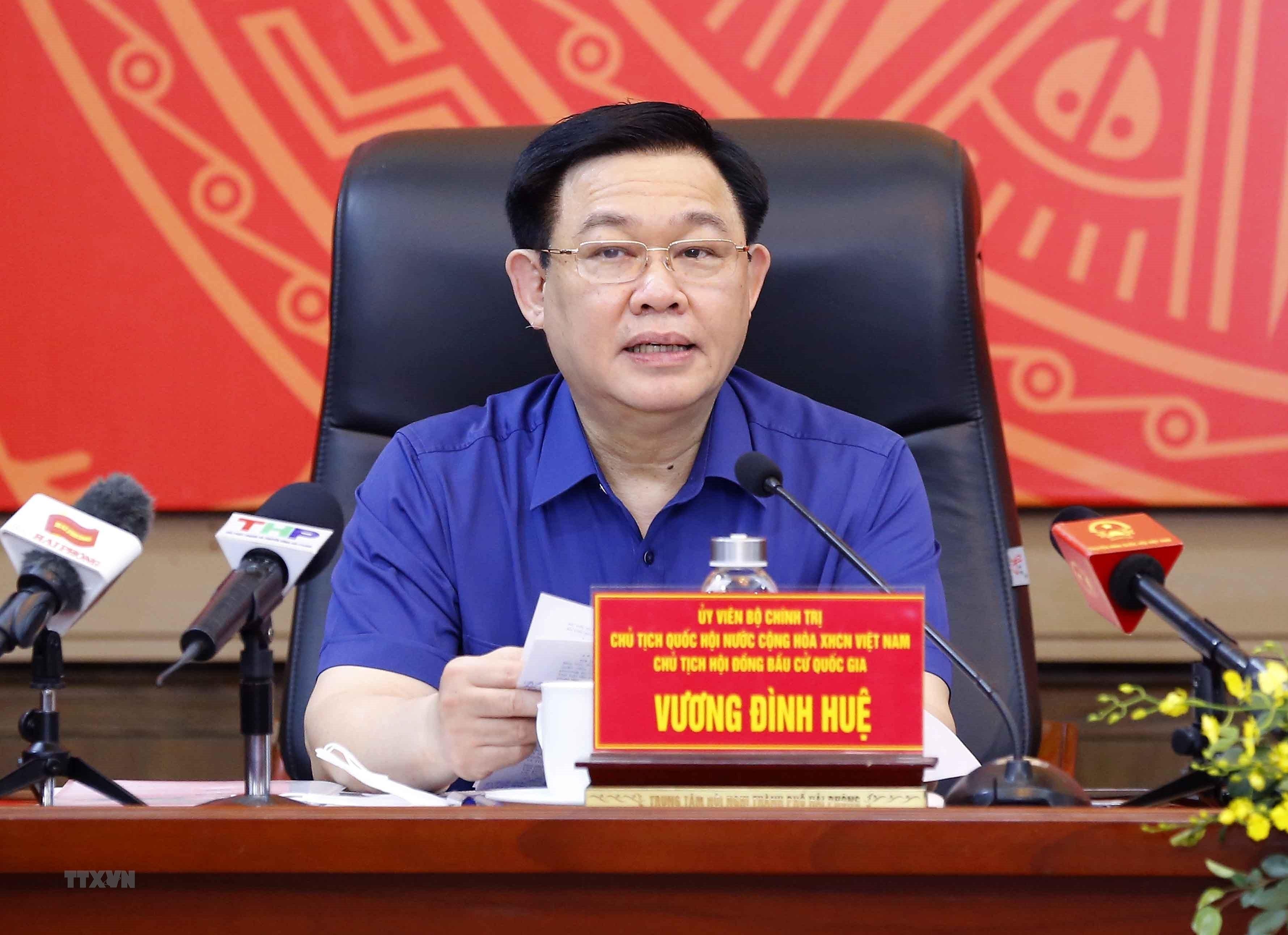 Chu tich Quoc hoi lam viec voi Ban Thuong vu Thanh uy Hai Phong hinh anh 5