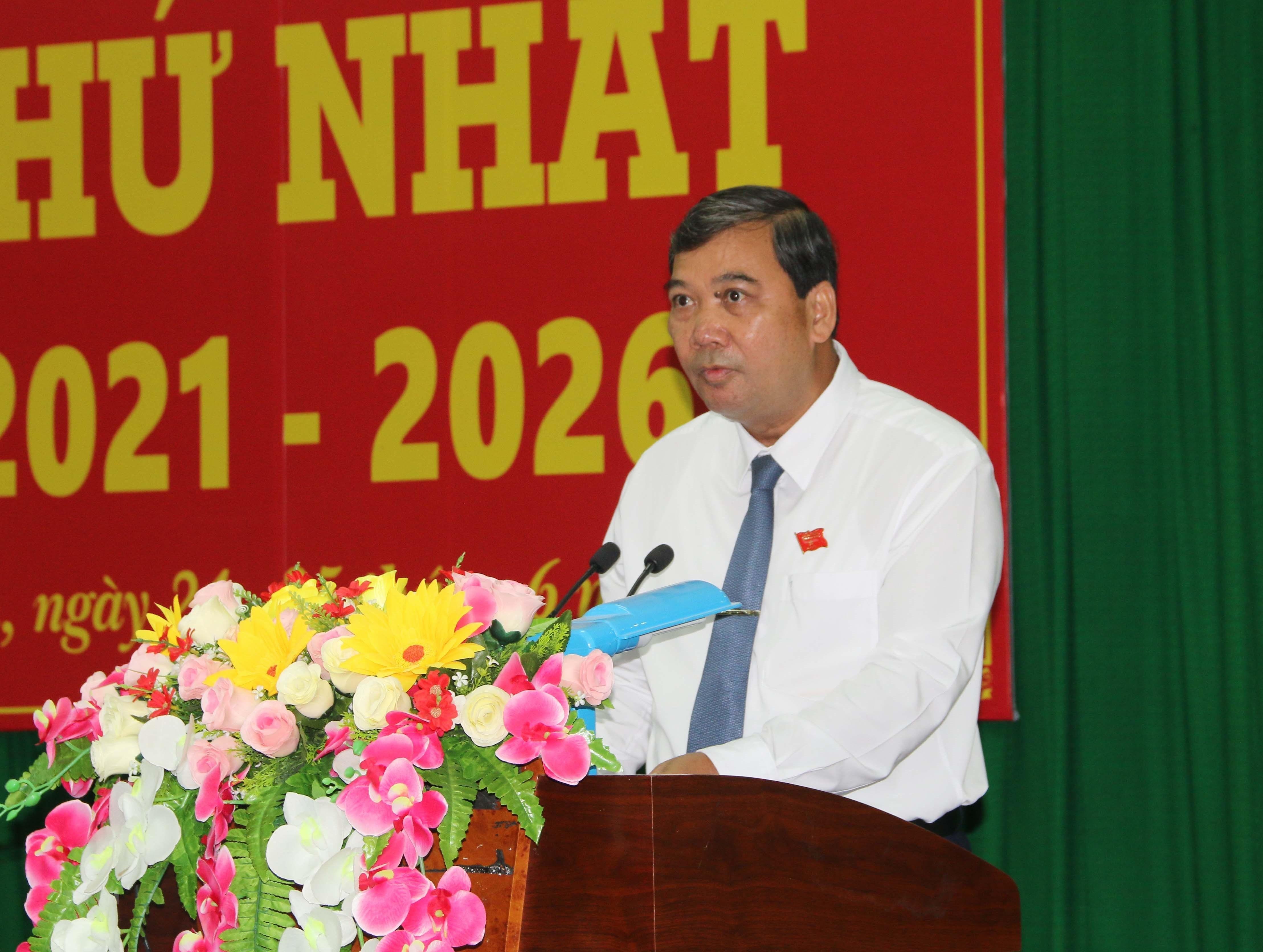 Ong Kim Ngoc Thai tai dac cu Chu tich HDND tinh Tra Vinh hinh anh 1