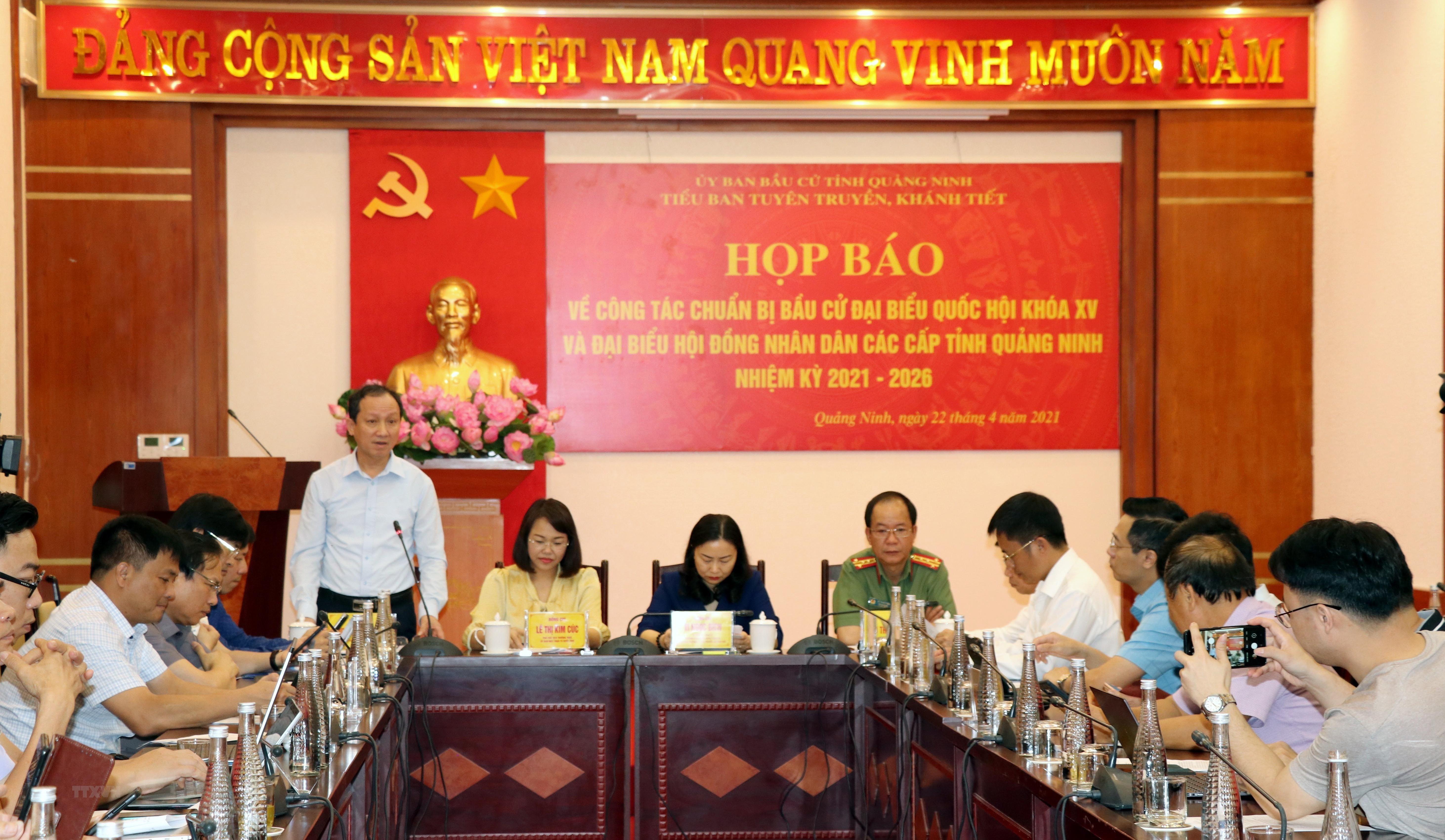 Quang Ninh: Ung cu vien dai bieu Quoc hoi va HDND co chat luong cao hinh anh 1
