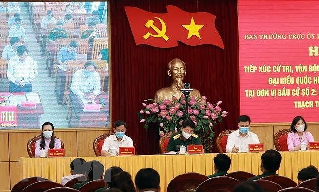 Cu tri Thanh Hoa kien nghi tao dieu kien phat trien kinh te bien hinh anh 1
