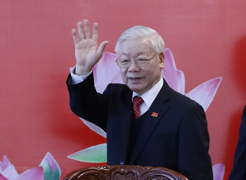 Bai viet cua TBT Nguyen Phu Trong ve con duong di len CNXH o Viet Nam hinh anh 1