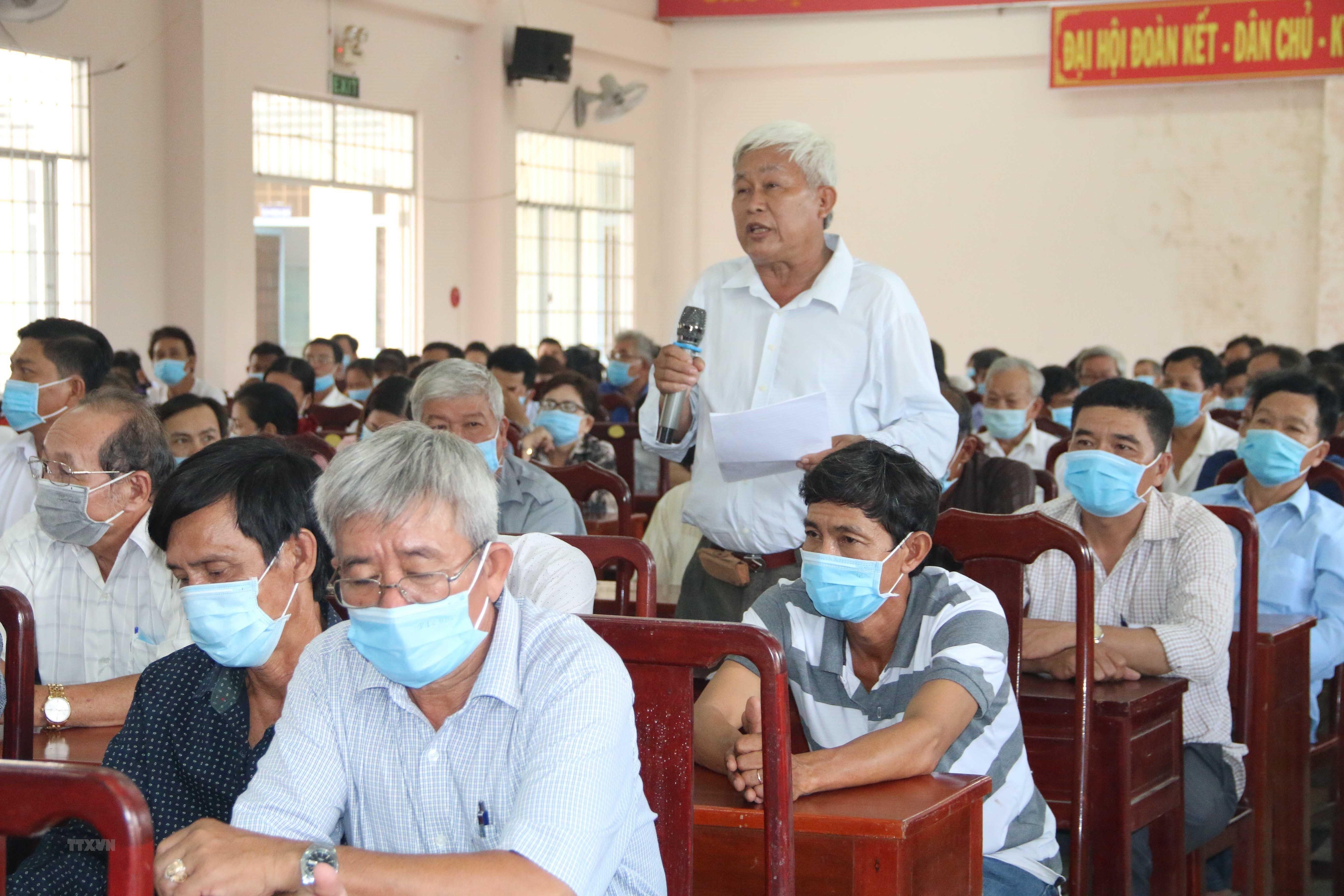Bau cu QH va HDND: Tuyen truyen sau rong trong dong bao Khmer hinh anh 2