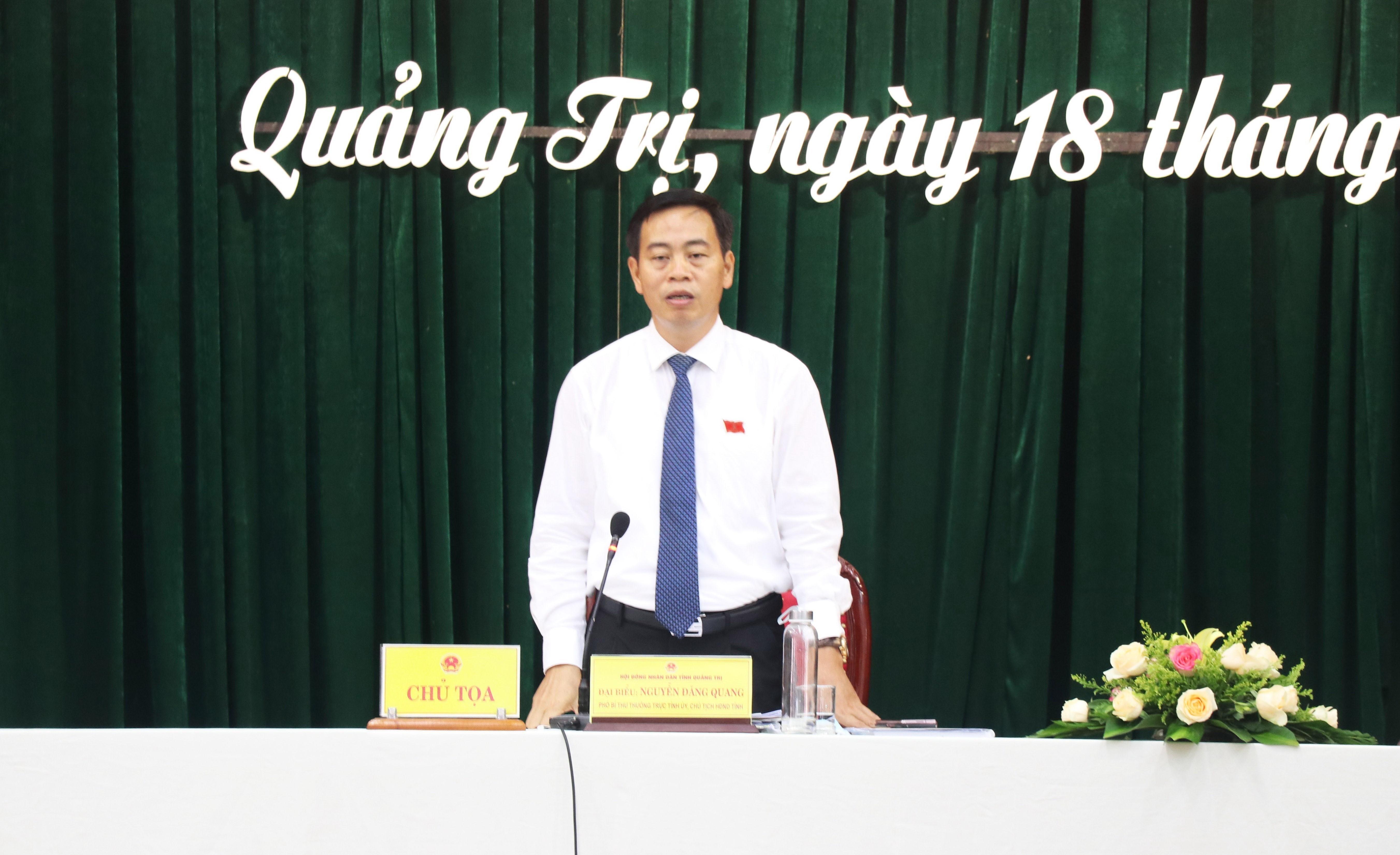 Ong Nguyen Dang Quang tai dac cu la Chu tich HDND tinh Quang Tri hinh anh 1