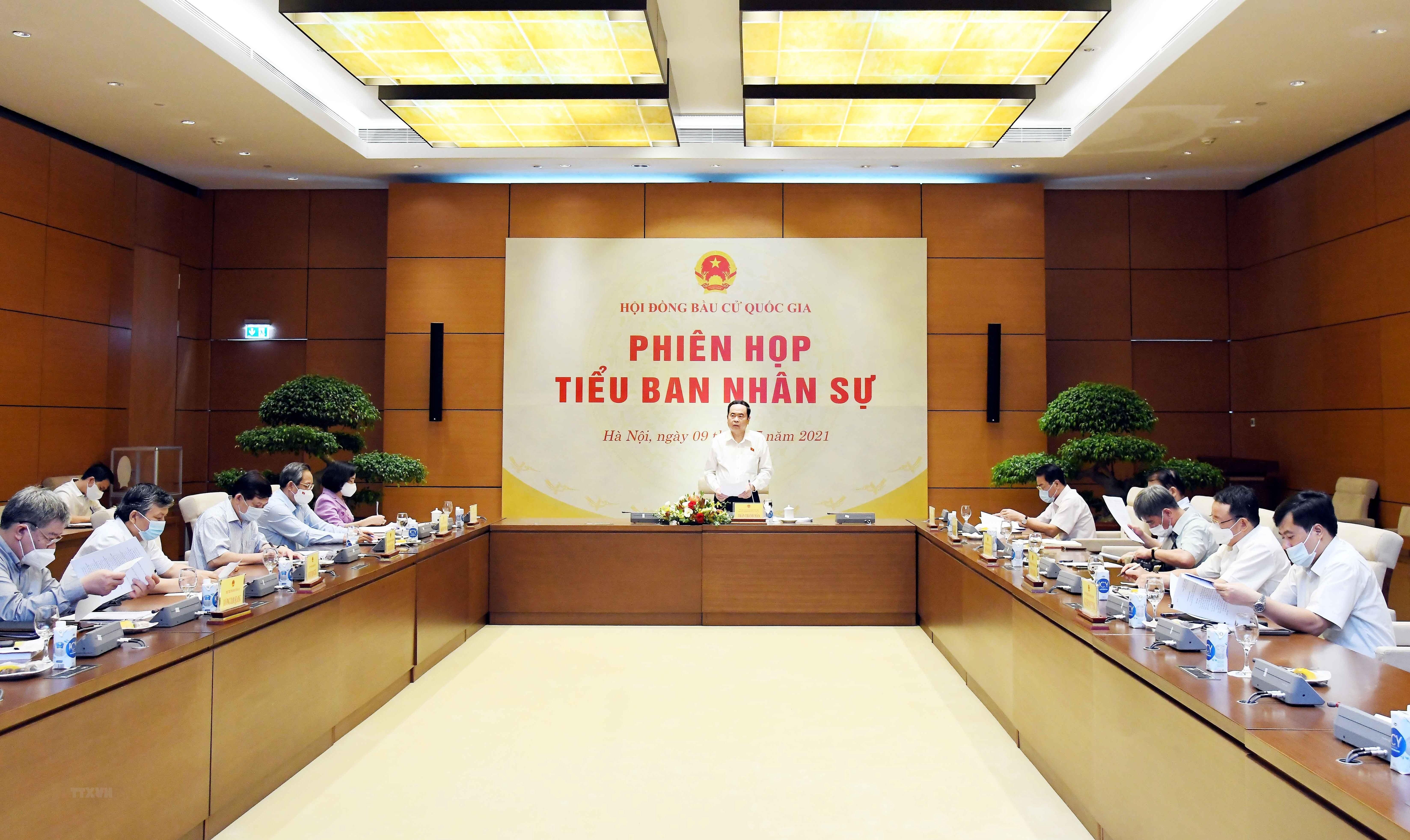Phien hop thu 4 Tieu ban Nhan su, Hoi dong Bau cu Quoc gia hinh anh 2