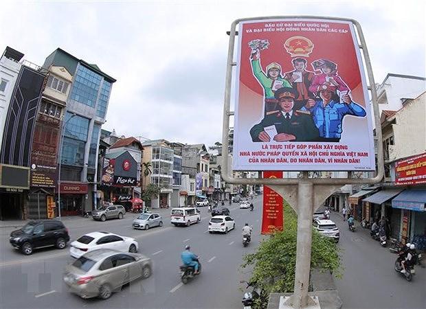 Nhieu diem khac biet trong bau cu o Ha Noi, Da Nang va TP Ho Chi Minh hinh anh 1