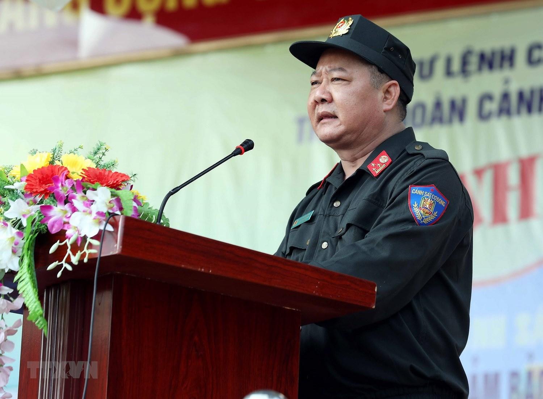 Luc luong CSCD thuc binh phuong an dam bao an ninh trat tu cuoc bau cu hinh anh 2