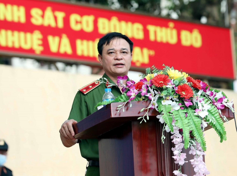 Luc luong CSCD thuc binh phuong an dam bao an ninh trat tu cuoc bau cu hinh anh 1