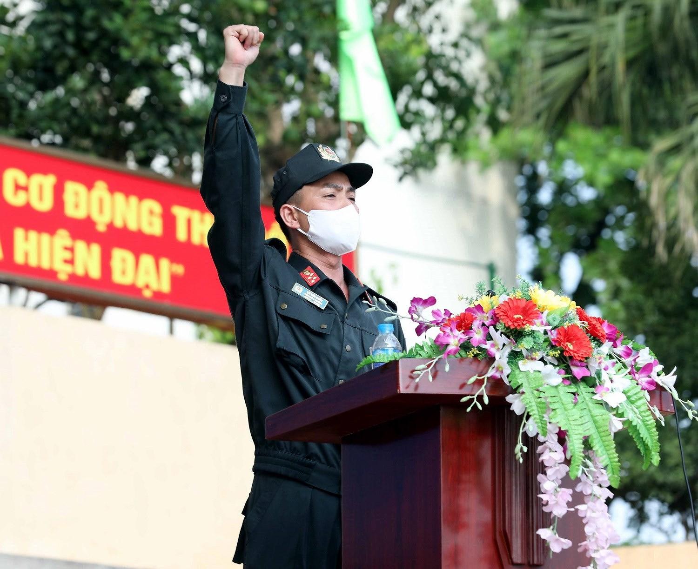 Luc luong CSCD thuc binh phuong an dam bao an ninh trat tu cuoc bau cu hinh anh 3