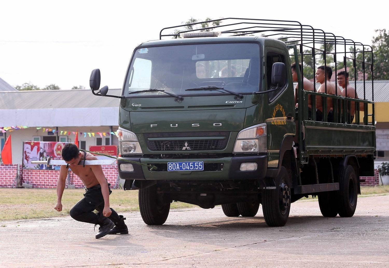 Luc luong CSCD thuc binh phuong an dam bao an ninh trat tu cuoc bau cu hinh anh 13