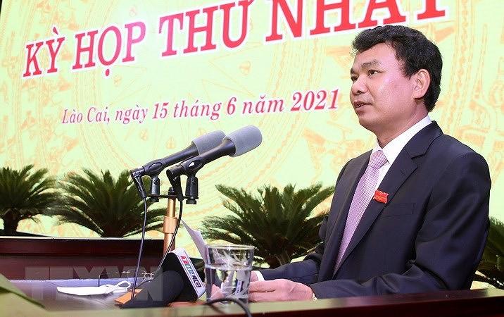 Ong Vu Xuan Cuong duoc bau giu chuc Chu tich HDND tinh Lao Cai hinh anh 1