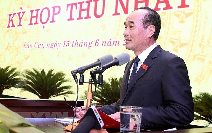 Ong Vu Xuan Cuong duoc bau giu chuc Chu tich HDND tinh Lao Cai hinh anh 2