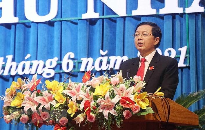 Ong Ho Quoc Dung duoc bau lam Chu tich HDND tinh Binh Dinh hinh anh 1