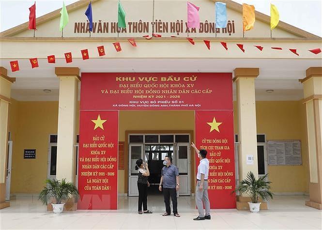 Ha Noi bo sung phuong an ung pho cac tinh huong phuc vu bau cu hinh anh 2