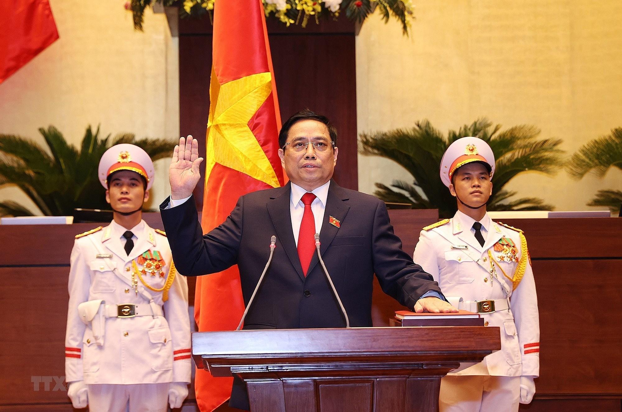 Hinh anh ong Pham Minh Chinh nham chuc Thu tuong Chinh phu hinh anh 1