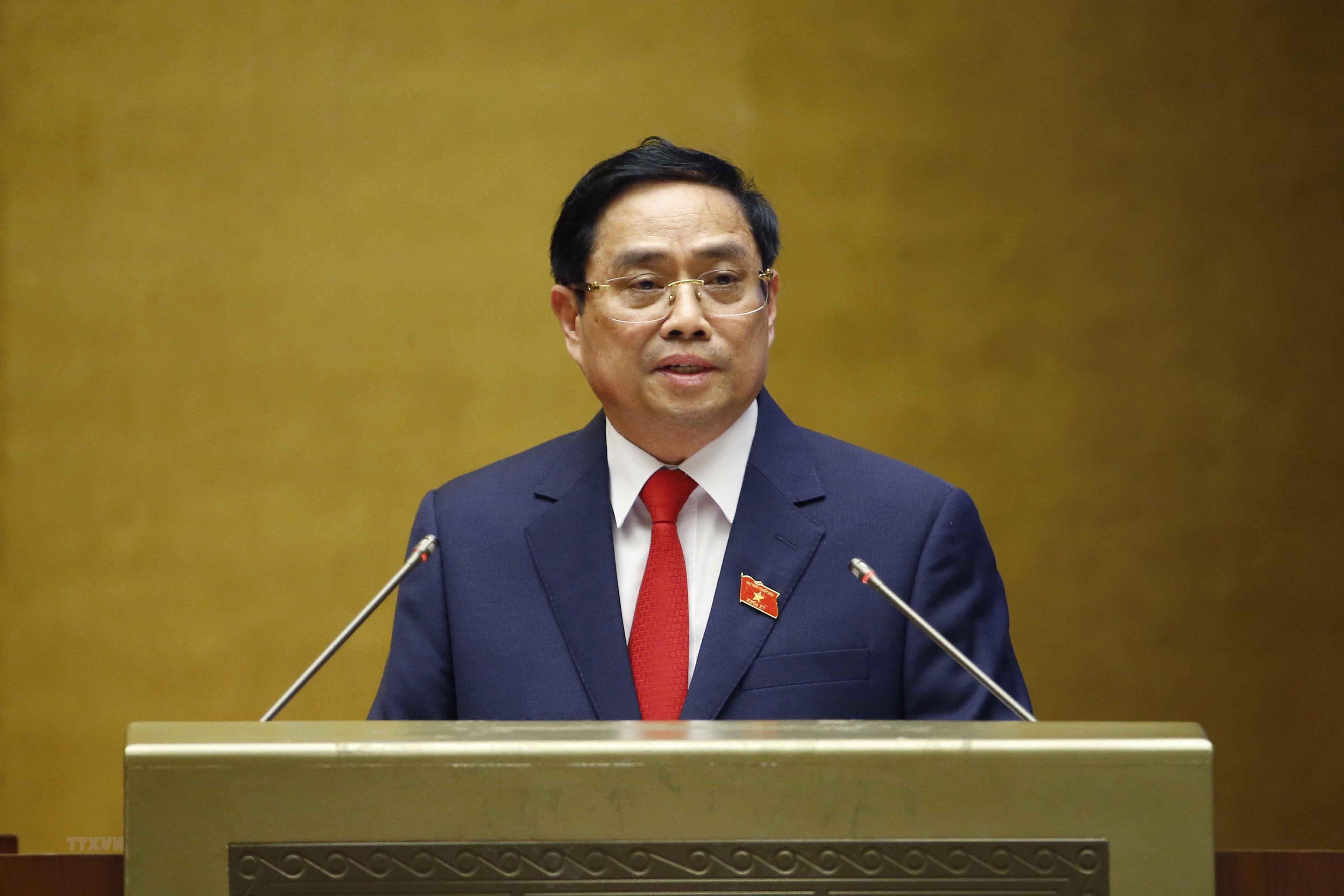 Hinh anh ong Pham Minh Chinh nham chuc Thu tuong Chinh phu hinh anh 10