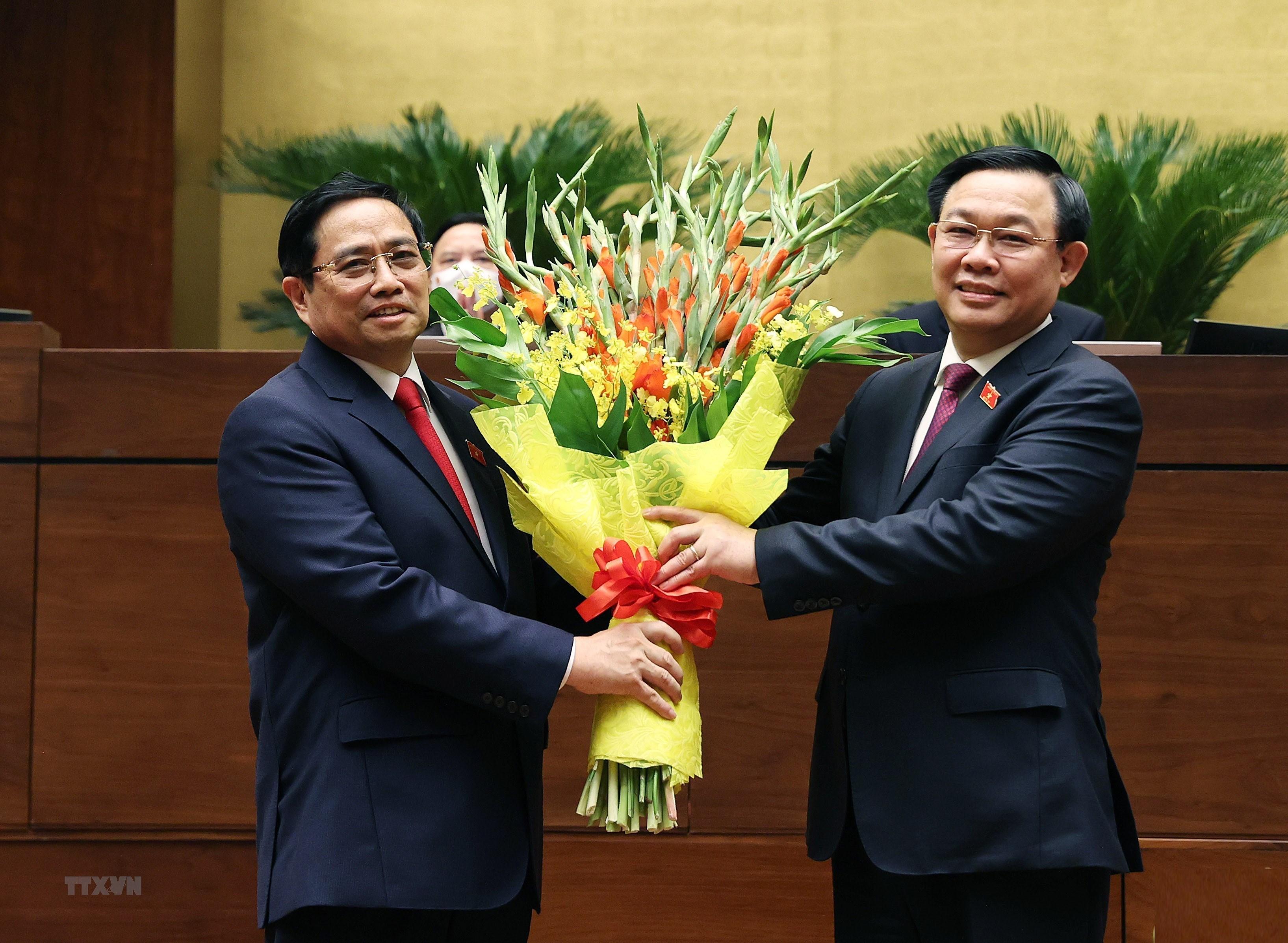 Hinh anh ong Pham Minh Chinh nham chuc Thu tuong Chinh phu hinh anh 11