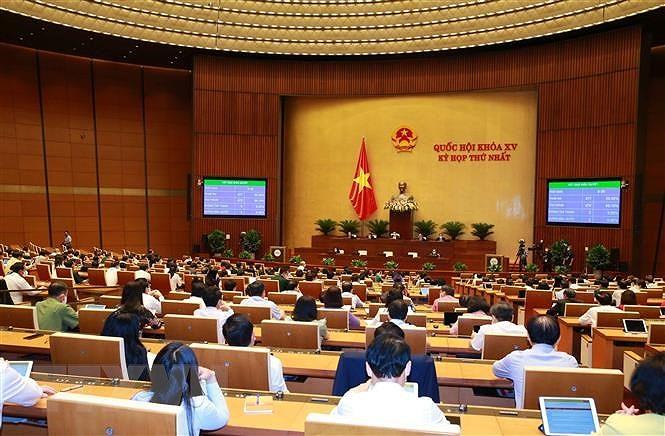 Thong qua Nghi quyet ve Ke hoach phat trien kinh te-xa hoi 2021-2025 hinh anh 1