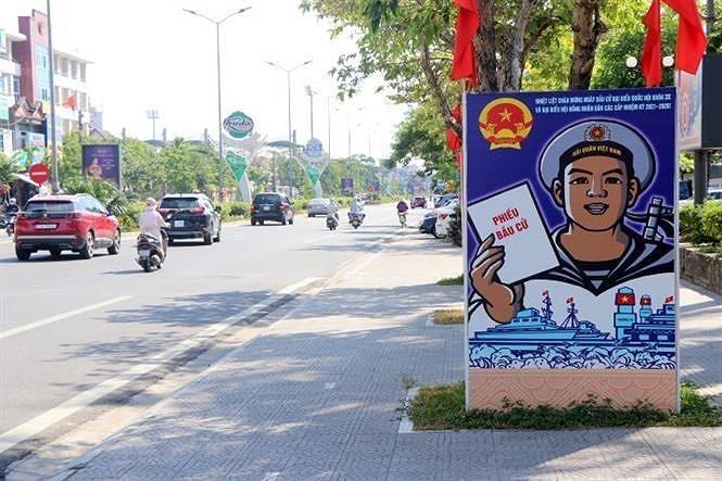 Dai su Lao: Cuoc bau cu the hien tinh dan chu che do XHCN o Viet Nam hinh anh 2