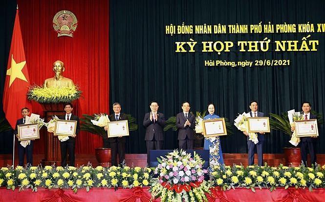 Hai Phong tap trung phat trien dot pha ba tru cot kinh te hinh anh 3