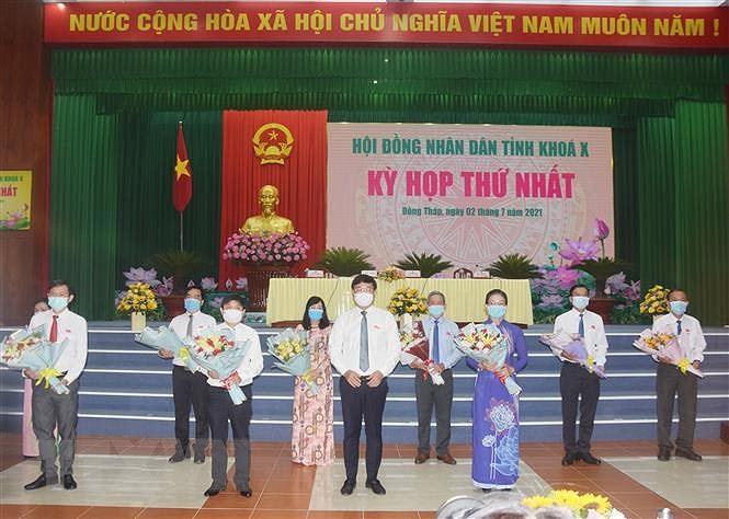 Dong Thap: Bau cac chuc danh lanh dao chu chot tinh nhiem ky 2021-2026 hinh anh 1