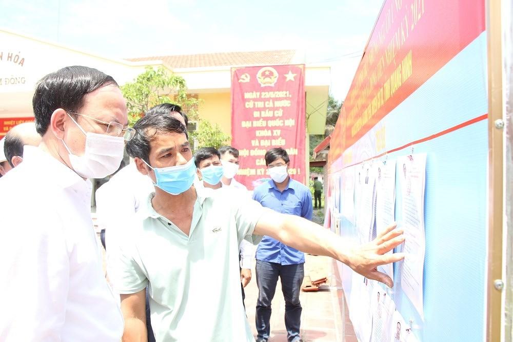 Bau cu Quoc hoi va HDND: Quang Ninh san sang cho Ngay hoi non song hinh anh 2