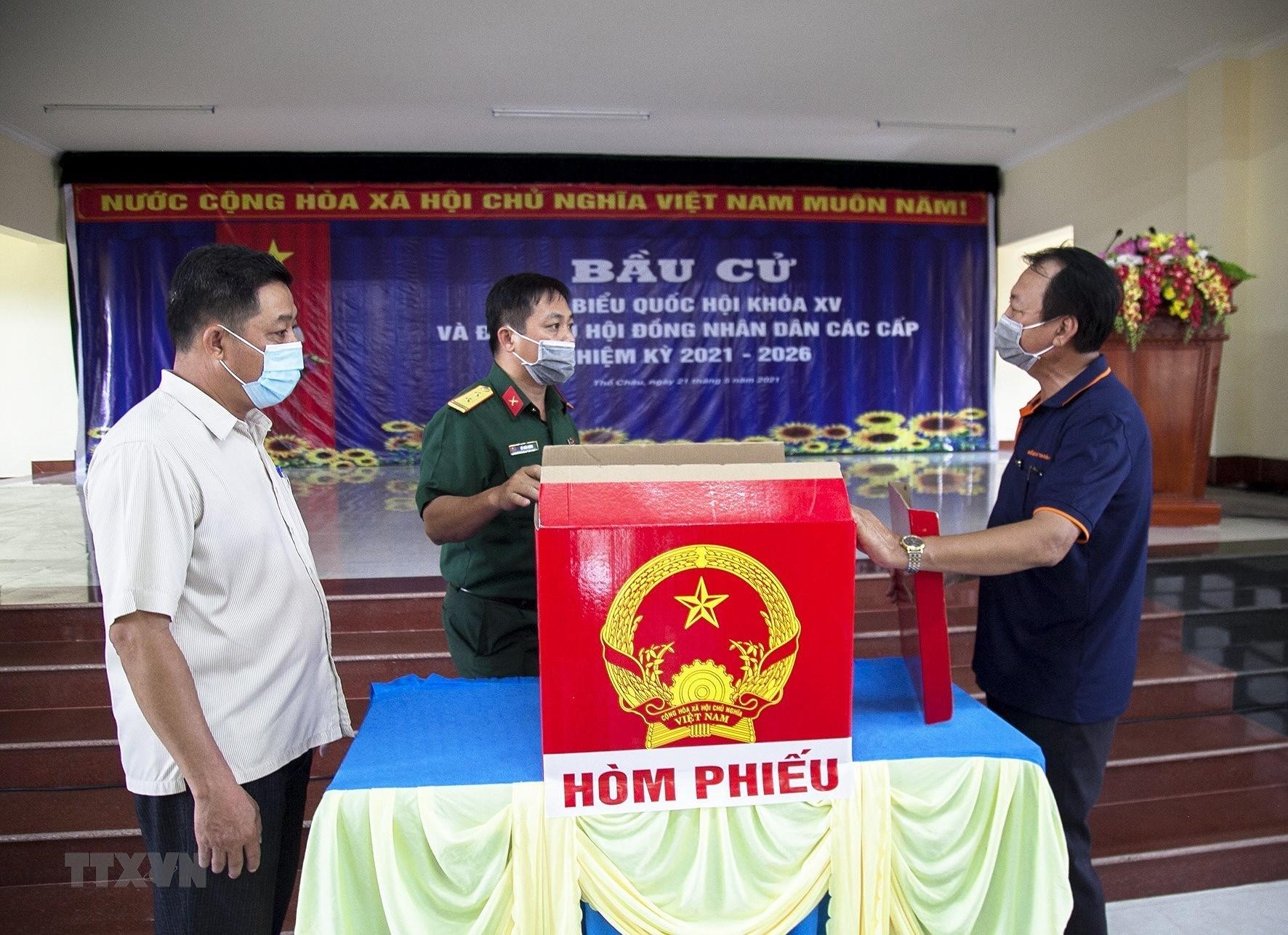 Hung Yen, Kien Giang, Bac Lieu chuan bi tot moi mat cho Ngay bau cu hinh anh 2