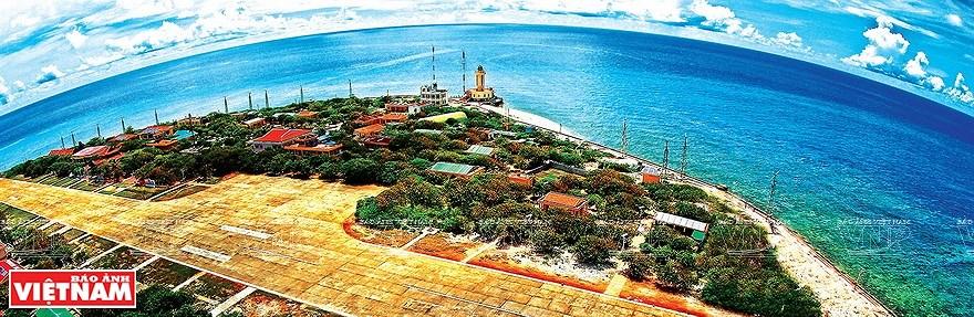 组图:简青山摄影师的越南海洋岛屿鸟瞰图 hinh anh 3
