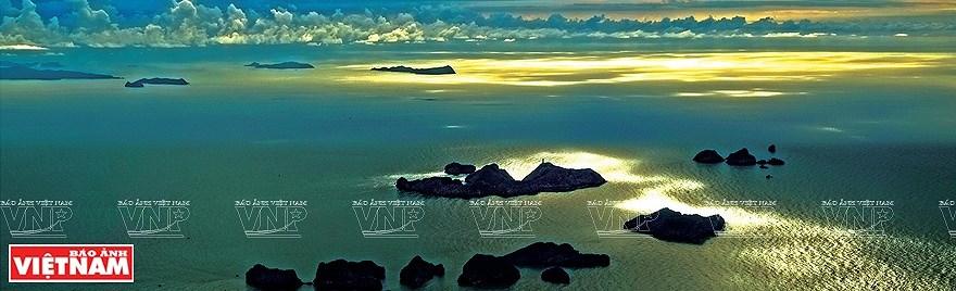 组图:简青山摄影师的越南海洋岛屿鸟瞰图 hinh anh 4