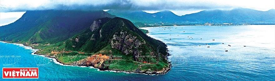 组图:简青山摄影师的越南海洋岛屿鸟瞰图 hinh anh 5